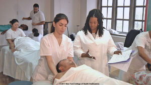 NY College of Health Professions Massage Therapy Class