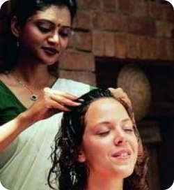 Indian Head Massage with Oil