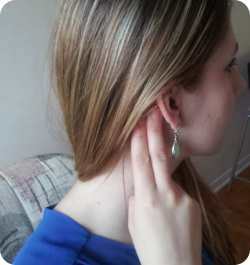 Friction Behind the Ear